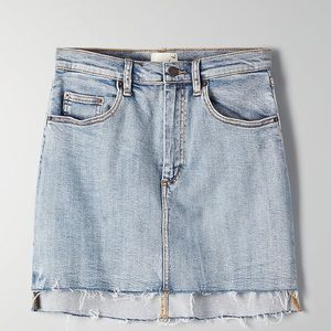Wilfred Free Tanit denim skirt